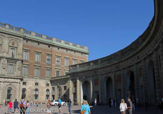 The Royal Palace in Gamla Stan, Stockholm.