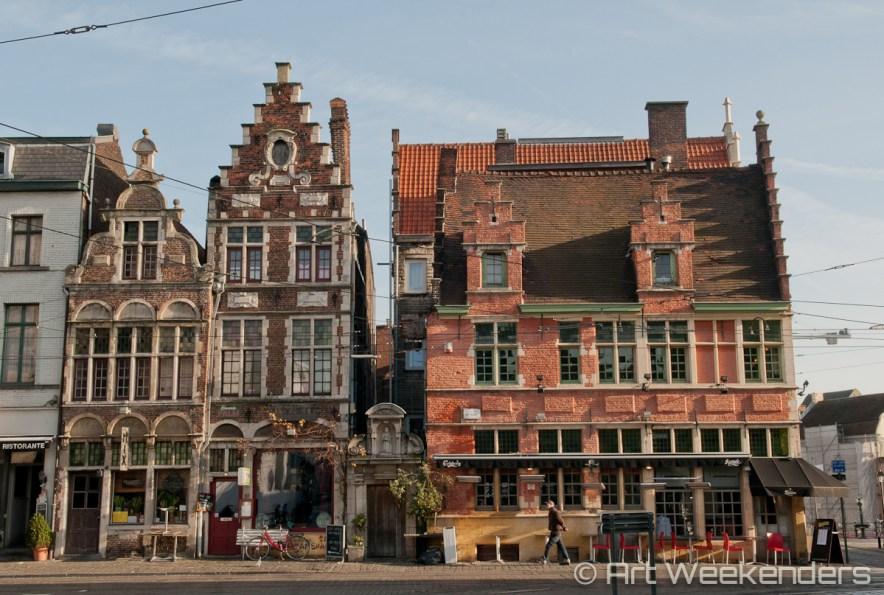 Belgium-Ghent-Geldmunt-Sint-Veerle-plein