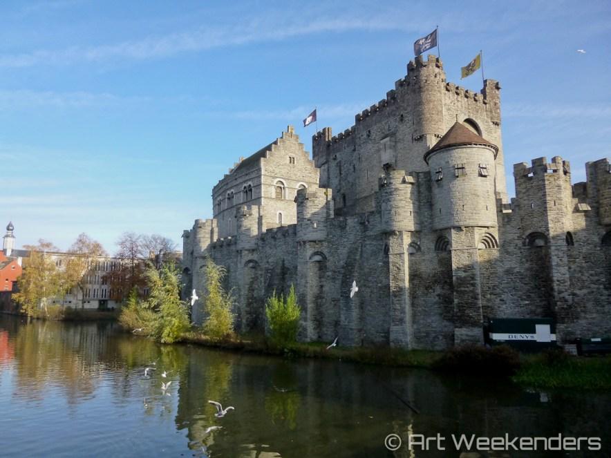 Belgium-Ghent-Gravensteen