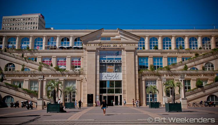 France_Montpellier_Antigone_District_Polygone