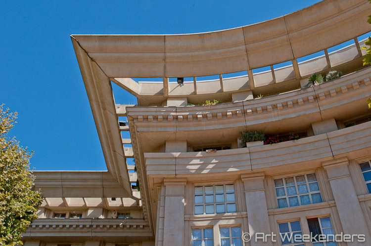 France_Montpellier_Antigone_District