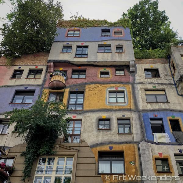Hundertwasser House in Vienna Austria Art