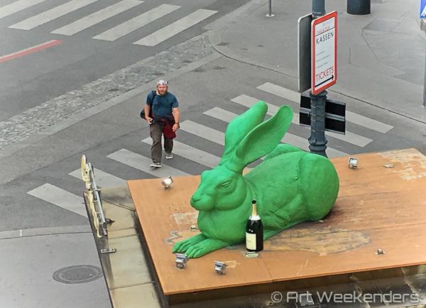 Art in public spaces in Vienna Austria