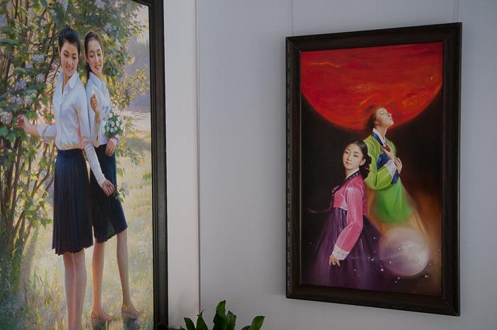 Hua Quan Village China North Korean Art 7