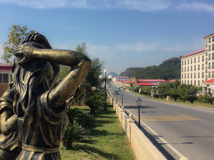 View over Hua Quan Village China 7