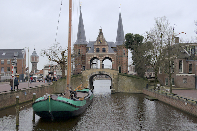 Sneek Waterpoort Snits Friesland Fryslan