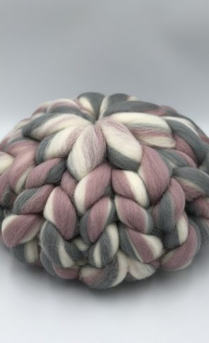 Pearl Rose Merino Wool Cushion