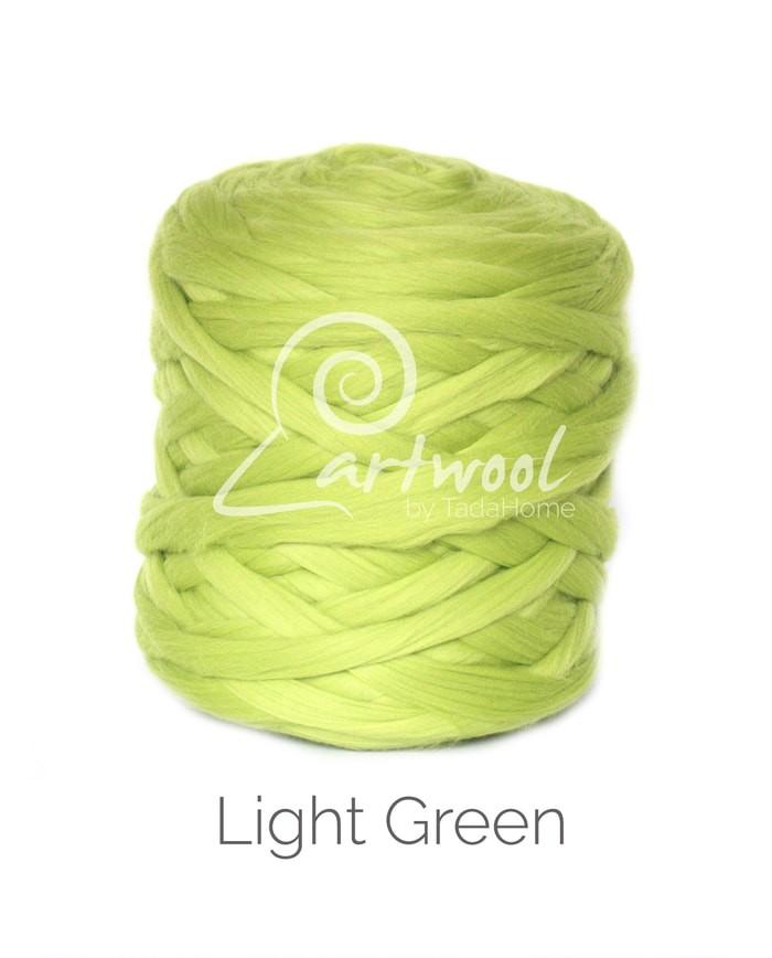 Light Green – 1 kg 100% Merino Wool Giant Chunky Yarn