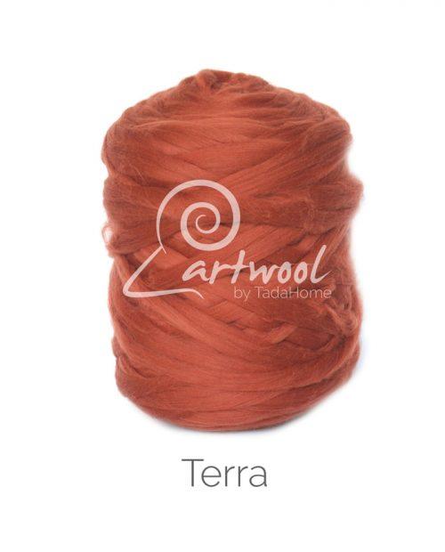 Terra - 1 kg 100% Merino Wool Giant Chunky Yarn Arm Knitting