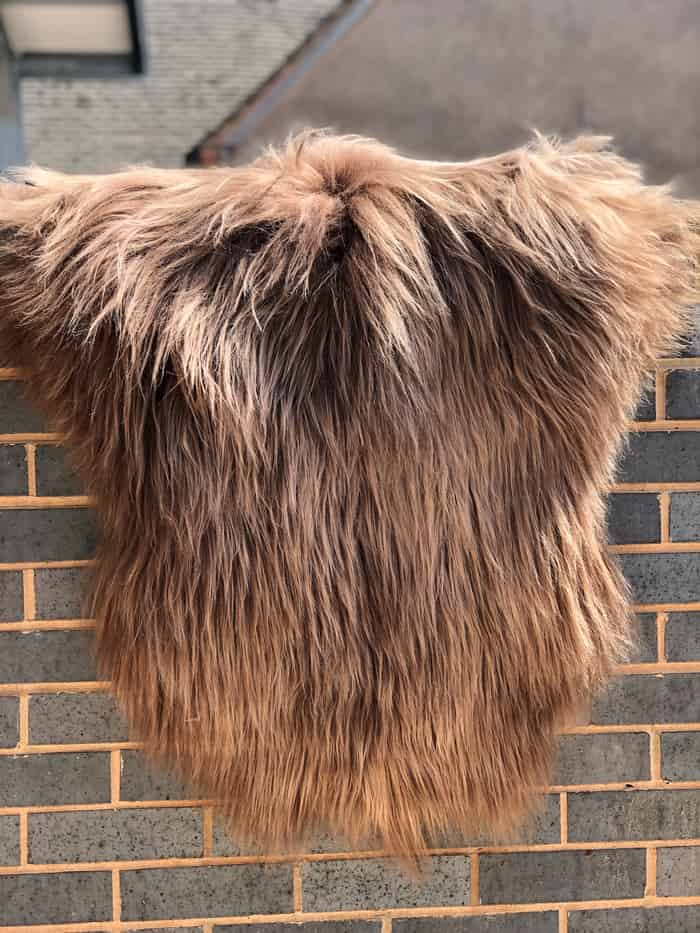 Ginger Breeze Icelandic Sheepskins - Soft, fluffy, in natural colour, odourless