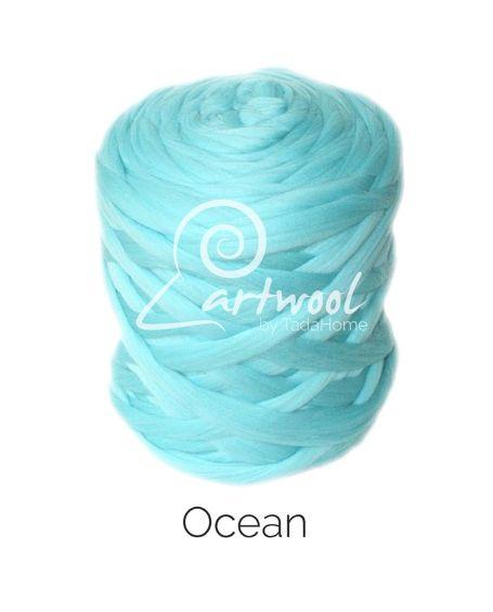 Ocean 100% Merino Yarn Wool Giant Chunky Extreme Big Arm Knitting 1 kg