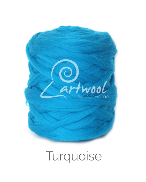 Turquoise Chunky Merino Wool Yarn UK Stock