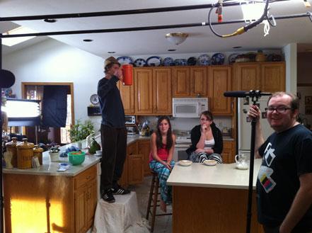 "Doritos Crash the Super Bowl 2012 behind the scenes of ""Secret Word"""