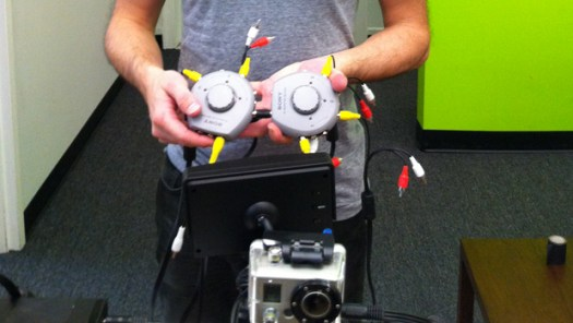 GoPro Multi-camera monitoring with Sony A/V Switches