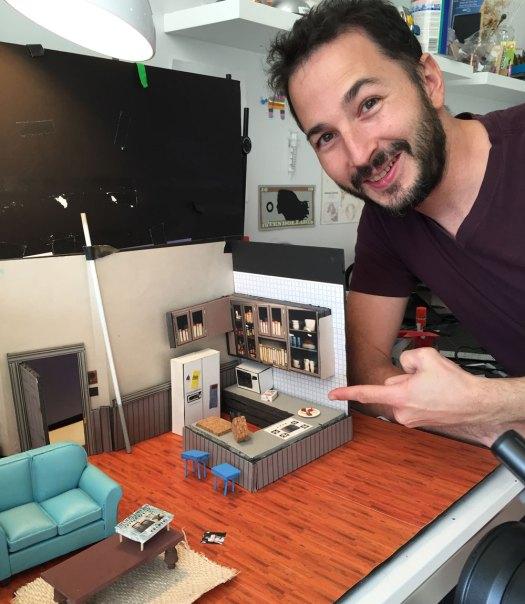 Keith Hopkin, creator of Hamsterfeld Video