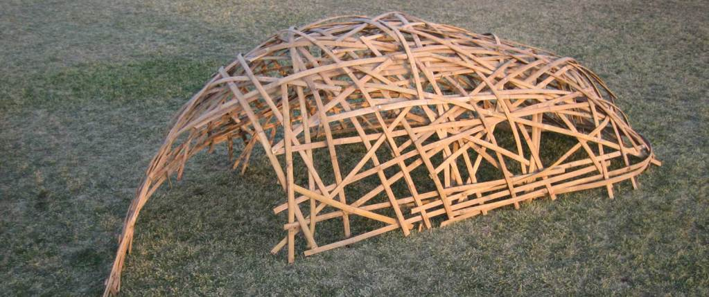 Bamboo shelter structure