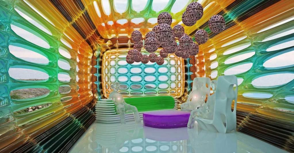 multi-color interior