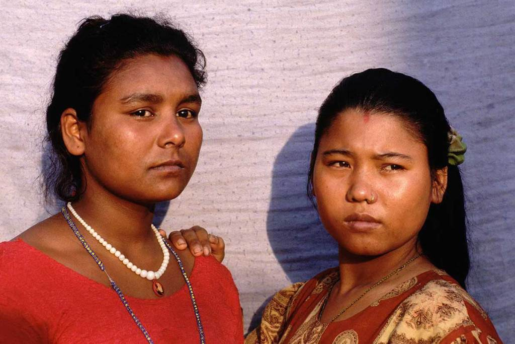 Two women from Nepal