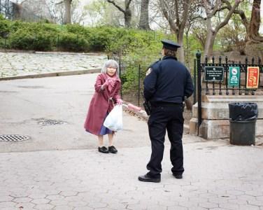 Ask policeman