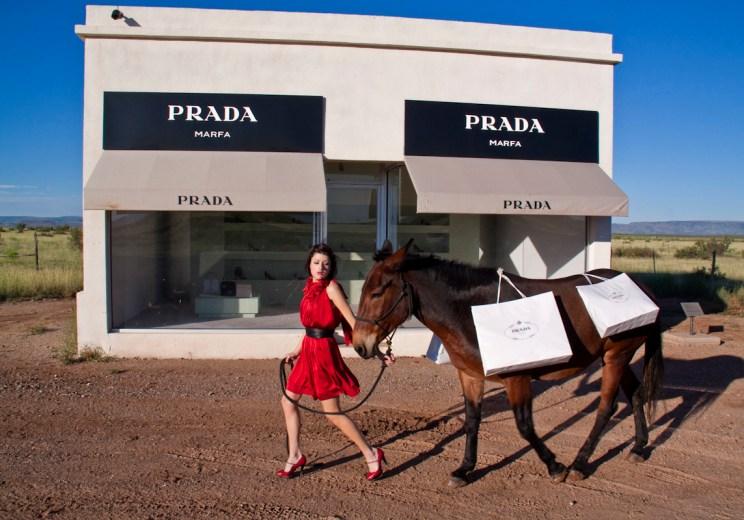 Prada Marfa by Maison Gray