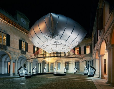 Aero-static Dome - Palazzo Clerici durante la Milan Design Week
