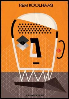 Federico Babina - Archi Portrait - Rem Koolhaas