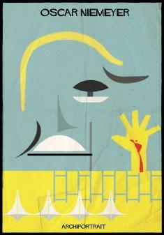 Federico Babina - Archi Portrait - Oscar Niemeyer