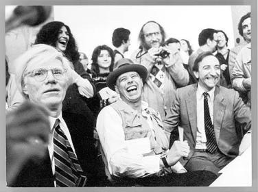 Warhol, Beuys e Lucio Amelio - 1980