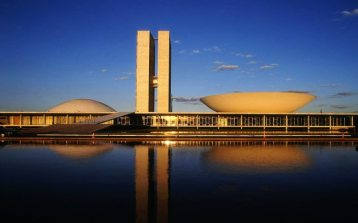 Oscar Niemeyer - Brasilia National Congress