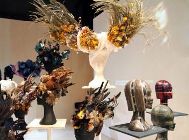 100 headpieces - by Katsuya Kamo for Comme Des Garçons
