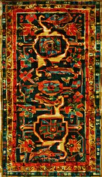 Mark Khaisman - Antique Serapi Rug_1, 2012