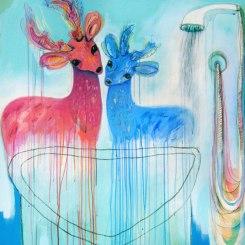 Nikky Morgan Smith - Crimson Deer