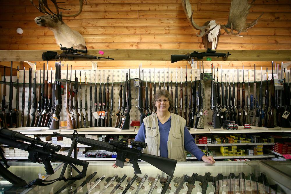 Chimo Guns in Wasilla, Alaska 2009
