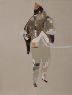 Guglielmo Castelli - Infinita è la notte - olio su tela 2014 80x60cm