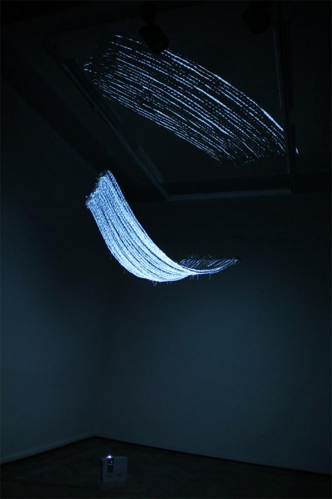 Weaving's plot - Videoinstallation (2013) Ph. Andrea Liuzza