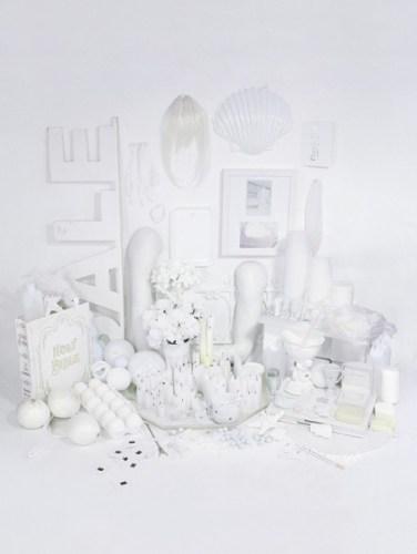 Color studies - White