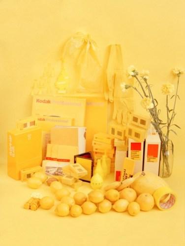 Color studies - Yellow
