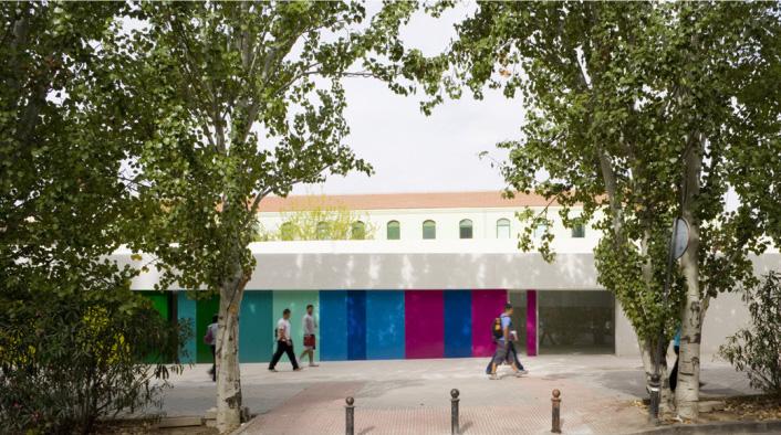 Escuela infantil y comedor municipal en Los Mondragones