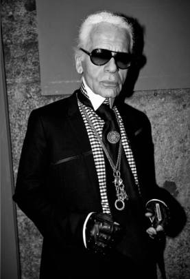 Karl Lagerfeld by Jacopo Benassi