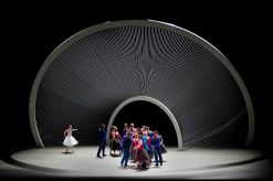 "Scenografia di Santiago Calatrava per il ""New Coreography and Music Festival"" al Lyncoln Center"