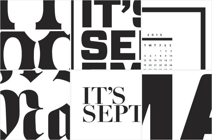 It's a Month! Giant Calendar