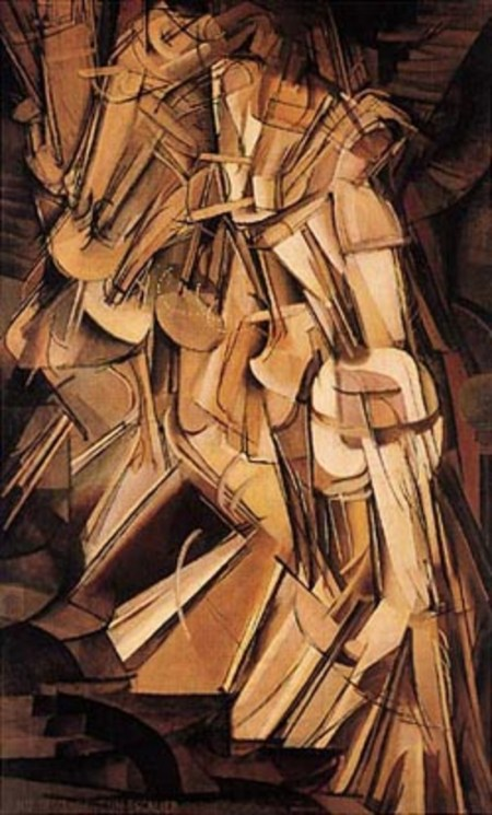 Nudo che scende le scale n.2, 1912 - Marcel Duchamp