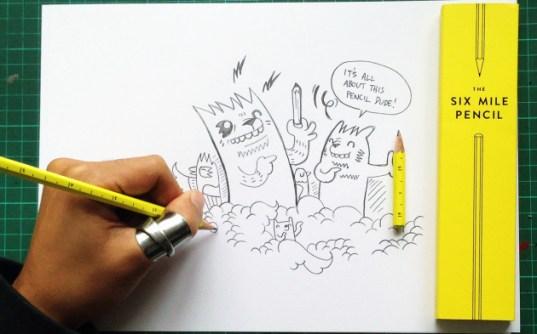 The Six Mile Pencil