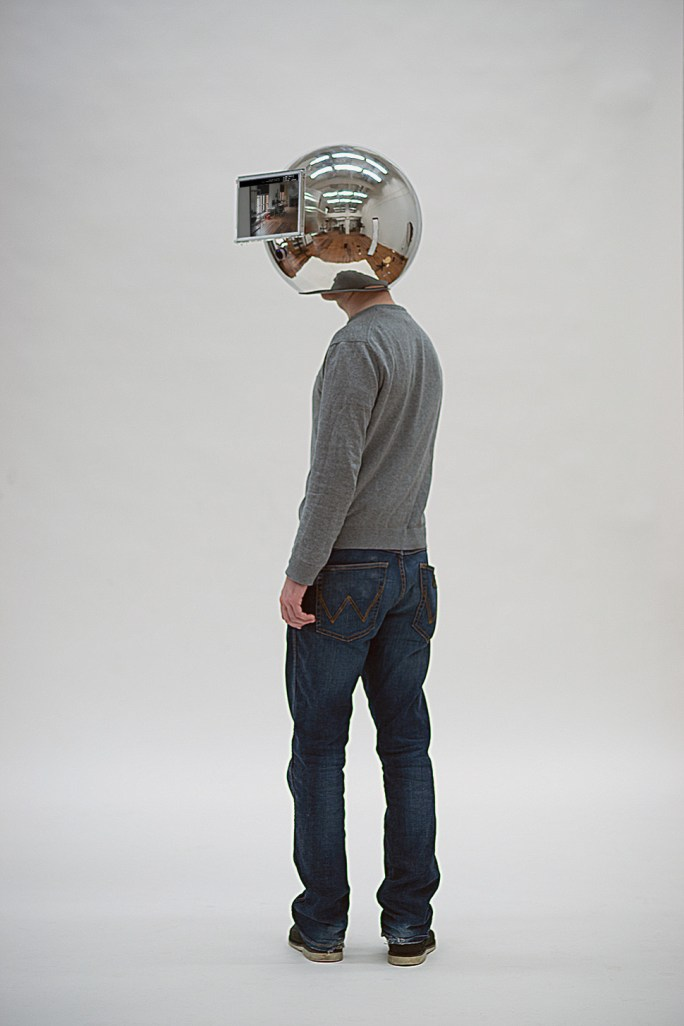 Lorenz Potthast - The Decelerator - Helmet, 2012 - NeuroArt