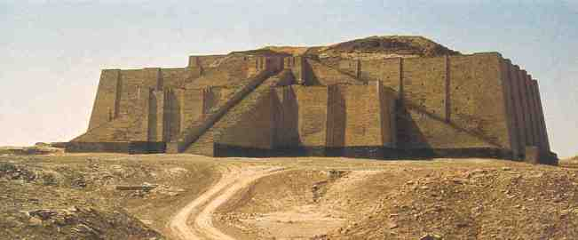 Ziggurat di UR - la casa di abramo