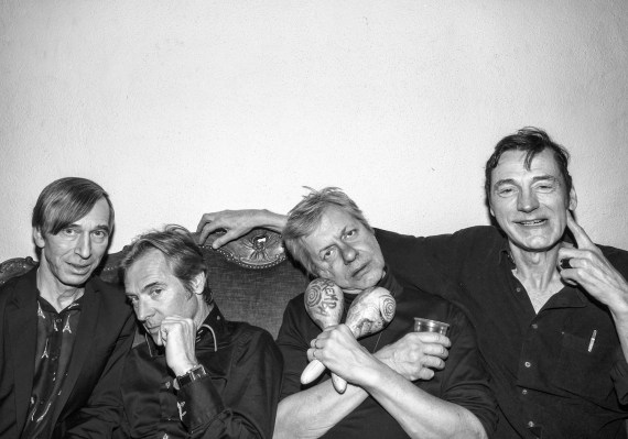 The Fleshtones - the eyes can see what the mouth can not say
