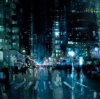 Manhattan Nights - Jeremy Mann