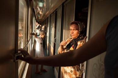 Teheran-Ankara TransAsia Train - Kiana Hayeri