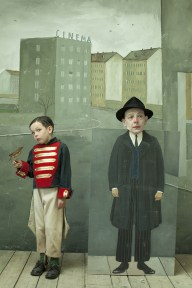 Homage à Saul Steinberg - Paolo Ventura