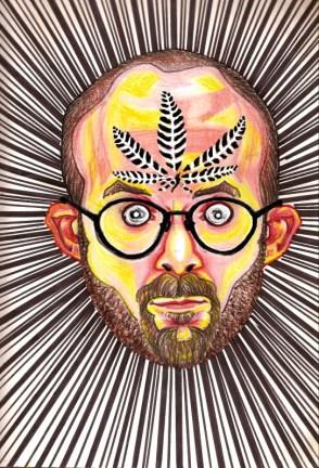 marijuana - Bryan Lewis Saunders
